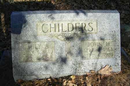 CHILDERS, JOHN H - Franklin County, Arkansas | JOHN H CHILDERS - Arkansas Gravestone Photos