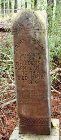 CHILDERS, MARTHA T - Franklin County, Arkansas | MARTHA T CHILDERS - Arkansas Gravestone Photos
