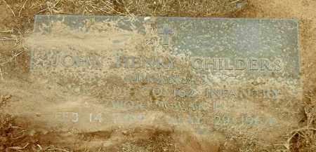 CHILDERS (VETERAN WWI), JOHN HENRY - Franklin County, Arkansas   JOHN HENRY CHILDERS (VETERAN WWI) - Arkansas Gravestone Photos