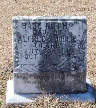 CLARK, BABE RUTH - Franklin County, Arkansas | BABE RUTH CLARK - Arkansas Gravestone Photos