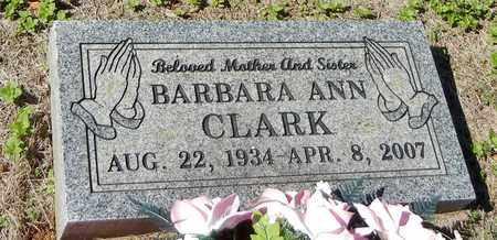 CLARK, BARBARA ANN - Franklin County, Arkansas   BARBARA ANN CLARK - Arkansas Gravestone Photos