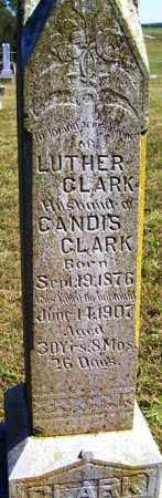 CLARK, LUTHER - Franklin County, Arkansas   LUTHER CLARK - Arkansas Gravestone Photos