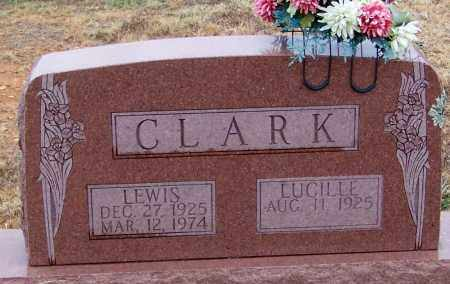 CLARK, LEWIS - Franklin County, Arkansas   LEWIS CLARK - Arkansas Gravestone Photos
