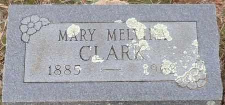 CLARK, MARY MELVINA - Franklin County, Arkansas | MARY MELVINA CLARK - Arkansas Gravestone Photos