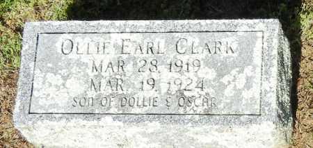CLARK, OLLIE EARL - Franklin County, Arkansas | OLLIE EARL CLARK - Arkansas Gravestone Photos