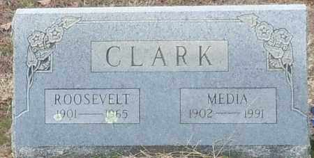 CLARK, MEDIA - Franklin County, Arkansas | MEDIA CLARK - Arkansas Gravestone Photos