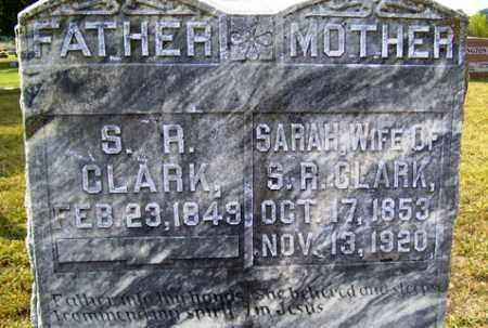 CLARK, SARAH - Franklin County, Arkansas | SARAH CLARK - Arkansas Gravestone Photos
