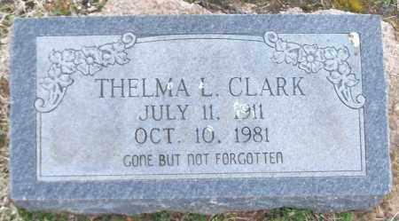 CLARK, THELMA L - Franklin County, Arkansas | THELMA L CLARK - Arkansas Gravestone Photos