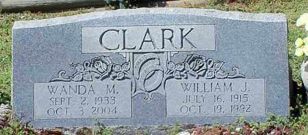 CLARK, WANDA M - Franklin County, Arkansas | WANDA M CLARK - Arkansas Gravestone Photos