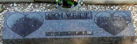 COLVETT, FREDRICK - Franklin County, Arkansas   FREDRICK COLVETT - Arkansas Gravestone Photos
