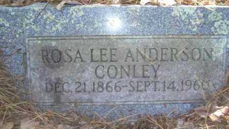 CONLEY, ROSA LEE - Franklin County, Arkansas | ROSA LEE CONLEY - Arkansas Gravestone Photos