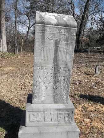 CULVER, BEE - Franklin County, Arkansas | BEE CULVER - Arkansas Gravestone Photos