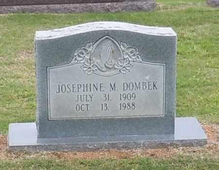 DOMBEK, JOSEPHINE M - Franklin County, Arkansas | JOSEPHINE M DOMBEK - Arkansas Gravestone Photos