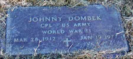 DOMBEK (VETERAN WWII), JOHNNY - Franklin County, Arkansas | JOHNNY DOMBEK (VETERAN WWII) - Arkansas Gravestone Photos