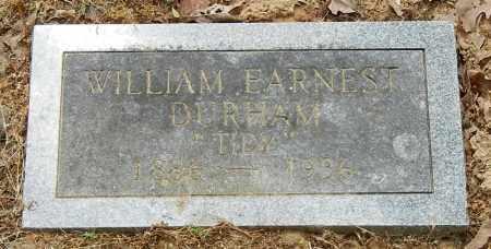 "DURHAM, WILLIAM EARNEST ""TIDY"" - Franklin County, Arkansas | WILLIAM EARNEST ""TIDY"" DURHAM - Arkansas Gravestone Photos"