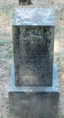 EVANS, HOWELL LEE - Franklin County, Arkansas | HOWELL LEE EVANS - Arkansas Gravestone Photos