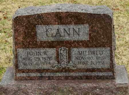 GANN, MILDRED - Franklin County, Arkansas   MILDRED GANN - Arkansas Gravestone Photos