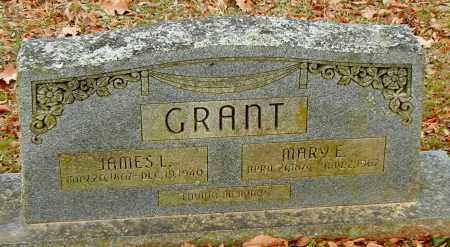 GRANT, JAMES L - Franklin County, Arkansas   JAMES L GRANT - Arkansas Gravestone Photos
