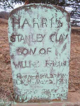 HARRIS, STANLEY CLAY - Franklin County, Arkansas   STANLEY CLAY HARRIS - Arkansas Gravestone Photos