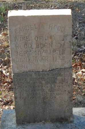 HOOD, CARDELIA - Franklin County, Arkansas   CARDELIA HOOD - Arkansas Gravestone Photos
