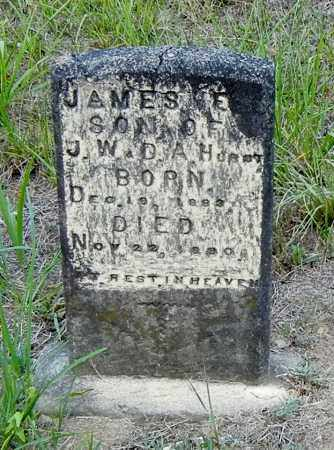 HURST, JAMES E - Franklin County, Arkansas | JAMES E HURST - Arkansas Gravestone Photos