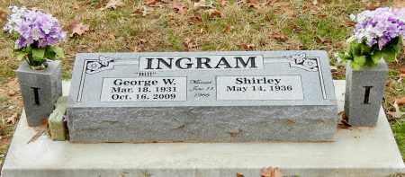 INGRAM, GEORGE W - Franklin County, Arkansas | GEORGE W INGRAM - Arkansas Gravestone Photos