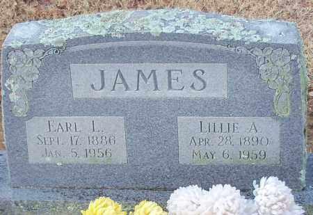 JAMES, LILLIE A - Franklin County, Arkansas | LILLIE A JAMES - Arkansas Gravestone Photos