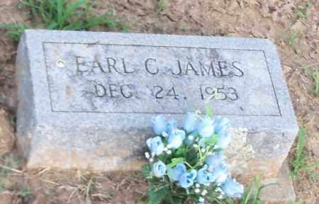 JAMES, EARL C - Franklin County, Arkansas | EARL C JAMES - Arkansas Gravestone Photos