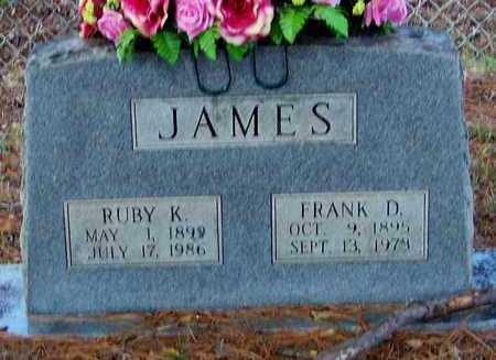 JAMES, RUBY K - Franklin County, Arkansas   RUBY K JAMES - Arkansas Gravestone Photos