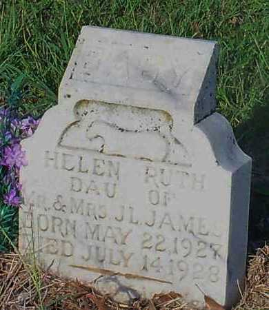 JAMES, HELEN RUTH - Franklin County, Arkansas | HELEN RUTH JAMES - Arkansas Gravestone Photos