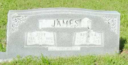 JAMES, BERTHA CORDELIA - Franklin County, Arkansas   BERTHA CORDELIA JAMES - Arkansas Gravestone Photos