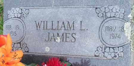 JAMES, WILLIAM L - Franklin County, Arkansas | WILLIAM L JAMES - Arkansas Gravestone Photos