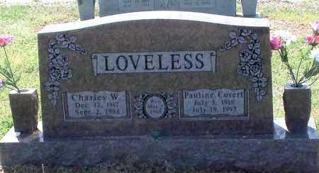 LOVELESS, PAULINE - Franklin County, Arkansas   PAULINE LOVELESS - Arkansas Gravestone Photos