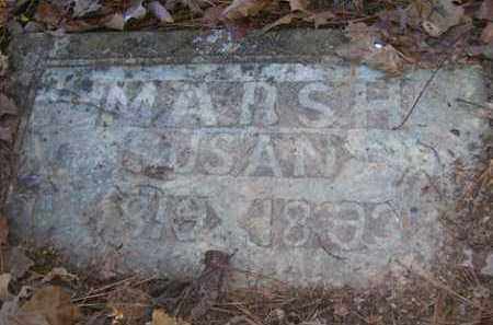 MARSH, SUSAN - Franklin County, Arkansas   SUSAN MARSH - Arkansas Gravestone Photos