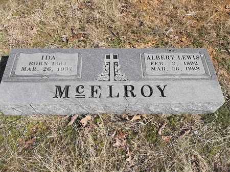 MCELROY, IDA LOY - Franklin County, Arkansas | IDA LOY MCELROY - Arkansas Gravestone Photos