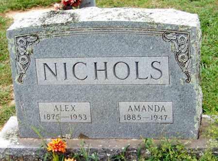 "NICHOLS, ALEXANDER ""ALEX"" - Franklin County, Arkansas | ALEXANDER ""ALEX"" NICHOLS - Arkansas Gravestone Photos"