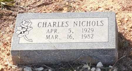 NICHOLS, CHARLES EDWARD - Franklin County, Arkansas | CHARLES EDWARD NICHOLS - Arkansas Gravestone Photos