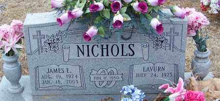 NICHOLS, JAMES EDWARD - Franklin County, Arkansas | JAMES EDWARD NICHOLS - Arkansas Gravestone Photos