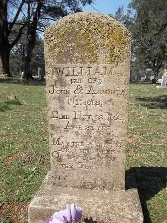 NICHOLS, WILLIAM - Franklin County, Arkansas | WILLIAM NICHOLS - Arkansas Gravestone Photos