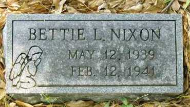 NIXON, BETTIE L - Franklin County, Arkansas   BETTIE L NIXON - Arkansas Gravestone Photos