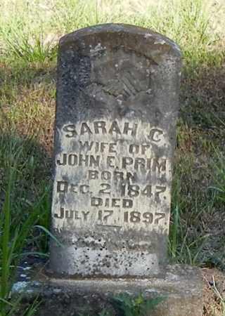 PRIM, SARAH C - Franklin County, Arkansas | SARAH C PRIM - Arkansas Gravestone Photos