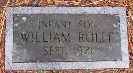 ROLLF, INFANT SON - Franklin County, Arkansas | INFANT SON ROLLF - Arkansas Gravestone Photos