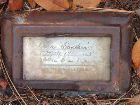 SANDERS, DORA - Franklin County, Arkansas | DORA SANDERS - Arkansas Gravestone Photos