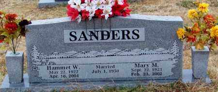 SANDERS, MARY MAGGALINE - Franklin County, Arkansas | MARY MAGGALINE SANDERS - Arkansas Gravestone Photos