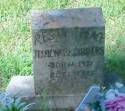 SANDERS, JESSIE WAYNE - Franklin County, Arkansas | JESSIE WAYNE SANDERS - Arkansas Gravestone Photos