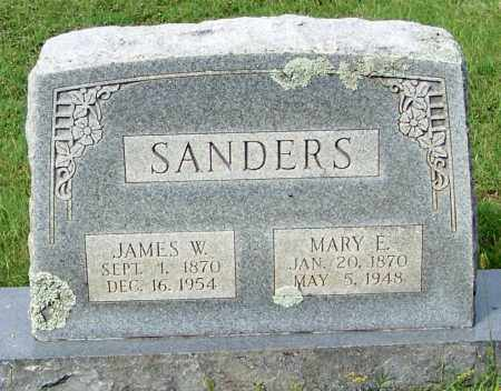 SANDERS, MARY ELIZABETH - Franklin County, Arkansas | MARY ELIZABETH SANDERS - Arkansas Gravestone Photos