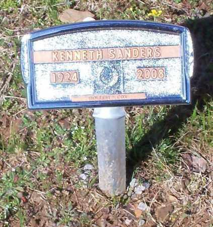 SANDERS, KENNETH - Franklin County, Arkansas | KENNETH SANDERS - Arkansas Gravestone Photos