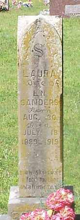 SANDERS, LAURA - Franklin County, Arkansas | LAURA SANDERS - Arkansas Gravestone Photos