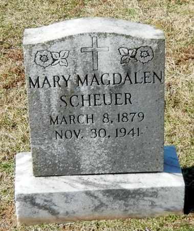 SCHEUER, MARY MAGDALEN - Franklin County, Arkansas   MARY MAGDALEN SCHEUER - Arkansas Gravestone Photos