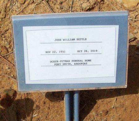 SETTLE, JOHN WILLIAM - Franklin County, Arkansas | JOHN WILLIAM SETTLE - Arkansas Gravestone Photos